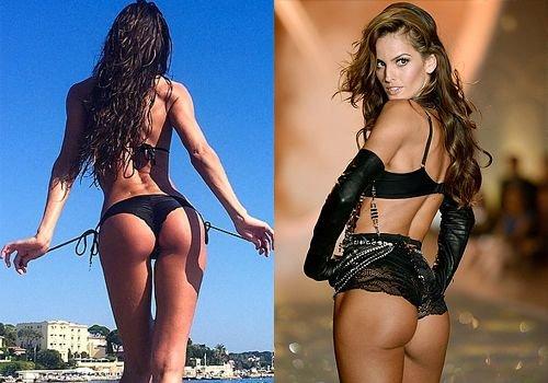 Izabel Goulart butt
