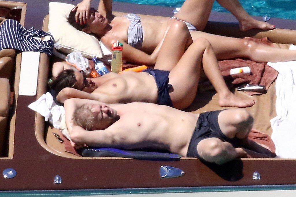 Jade Jagger Topless 1