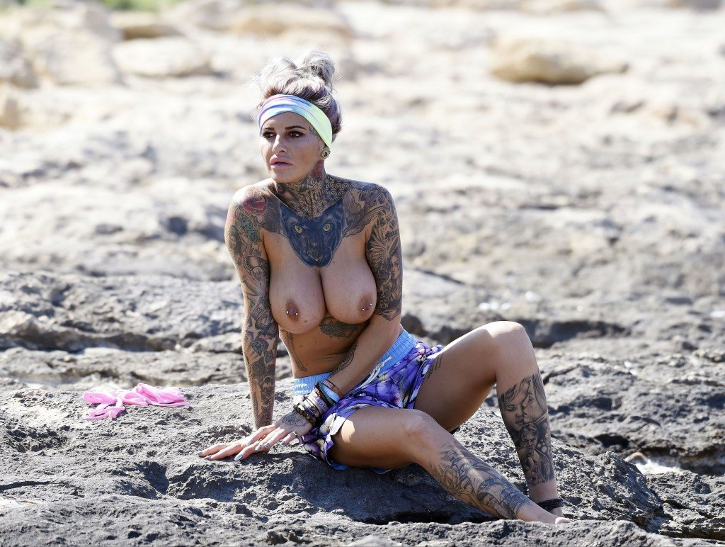 Jemma Lucy Sexy Topless thefappening.so-0061
