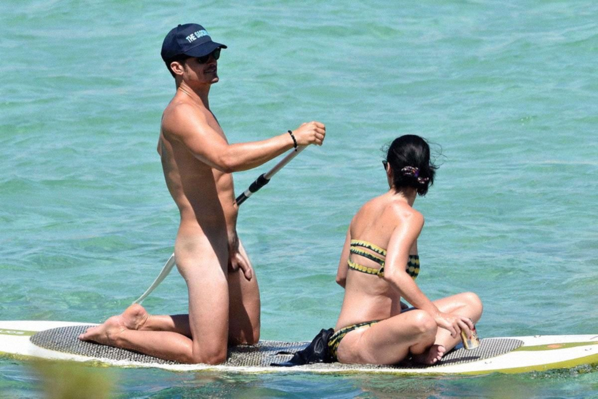 Katy Perry And Orlando Bloom Naked