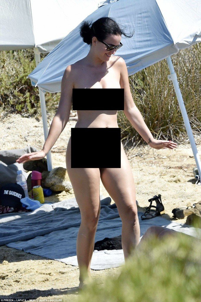 Katy Perry and Orlando Bloom Naked 2