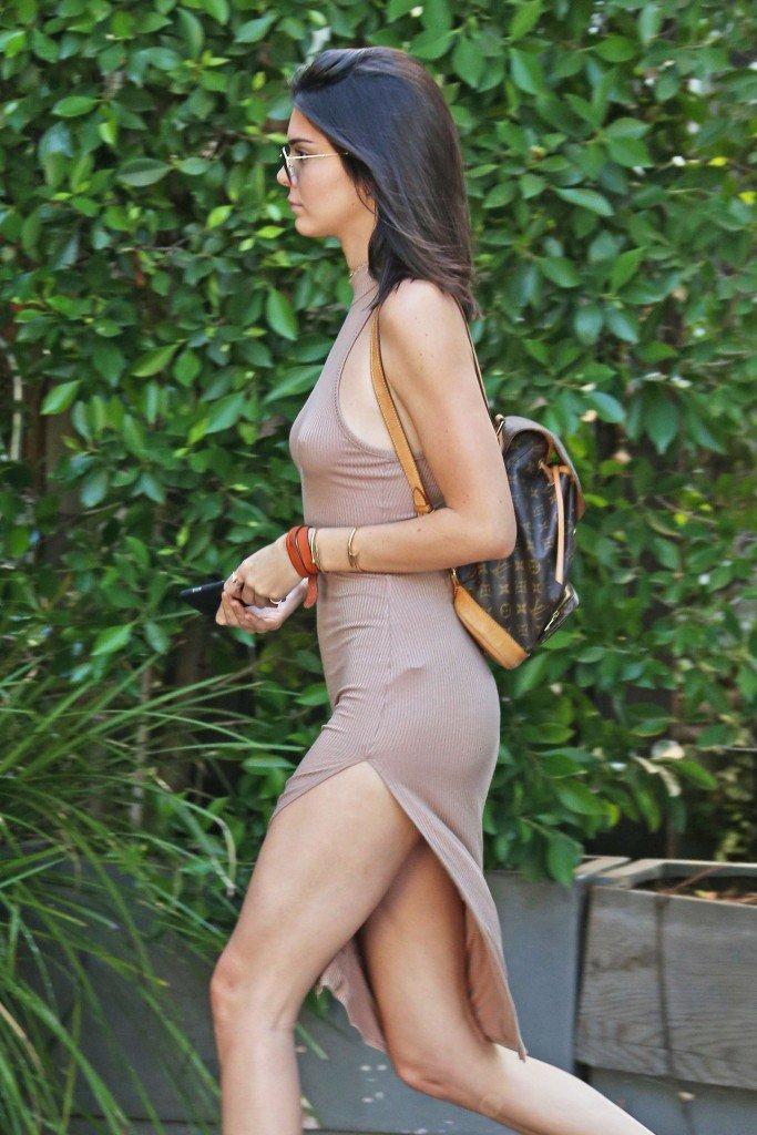Kendall Jenner Braless (16 Photos)