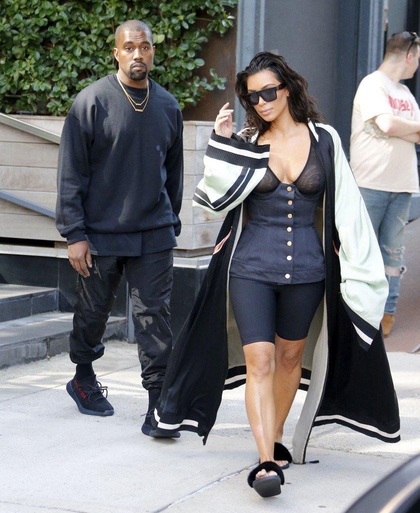 Kim Kardashian See Through 10