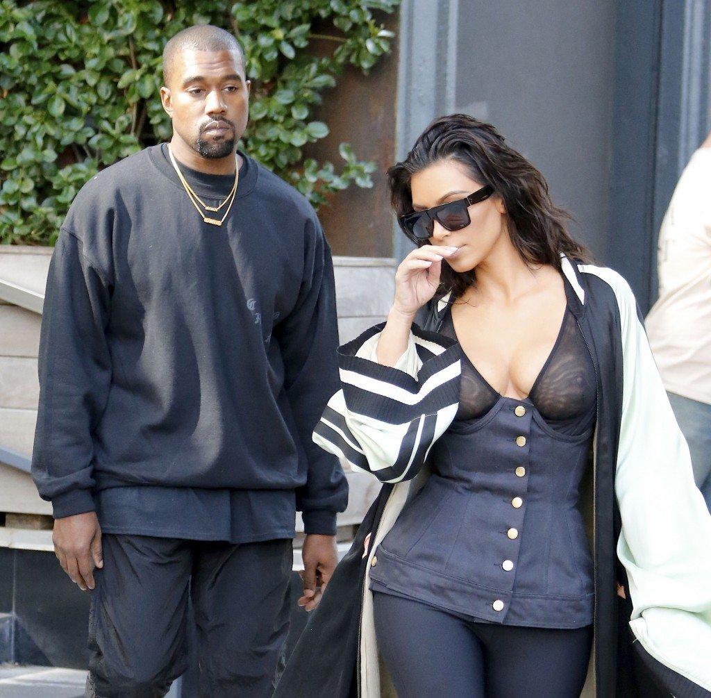 Kim Kardashian See Through 11