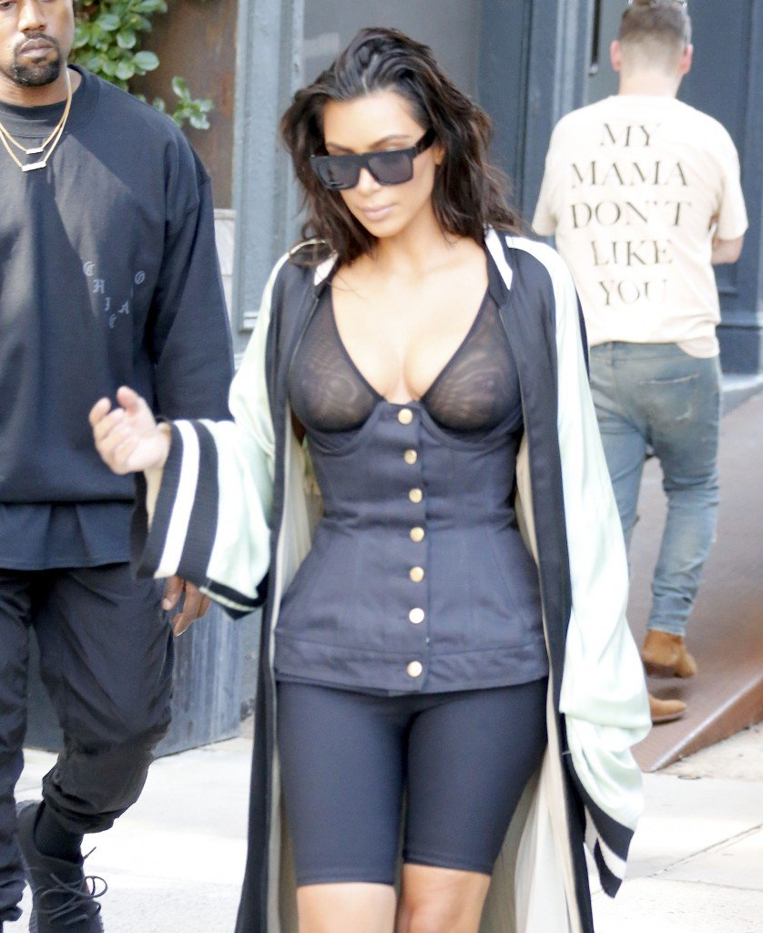 Kim Kardashian See Through 12
