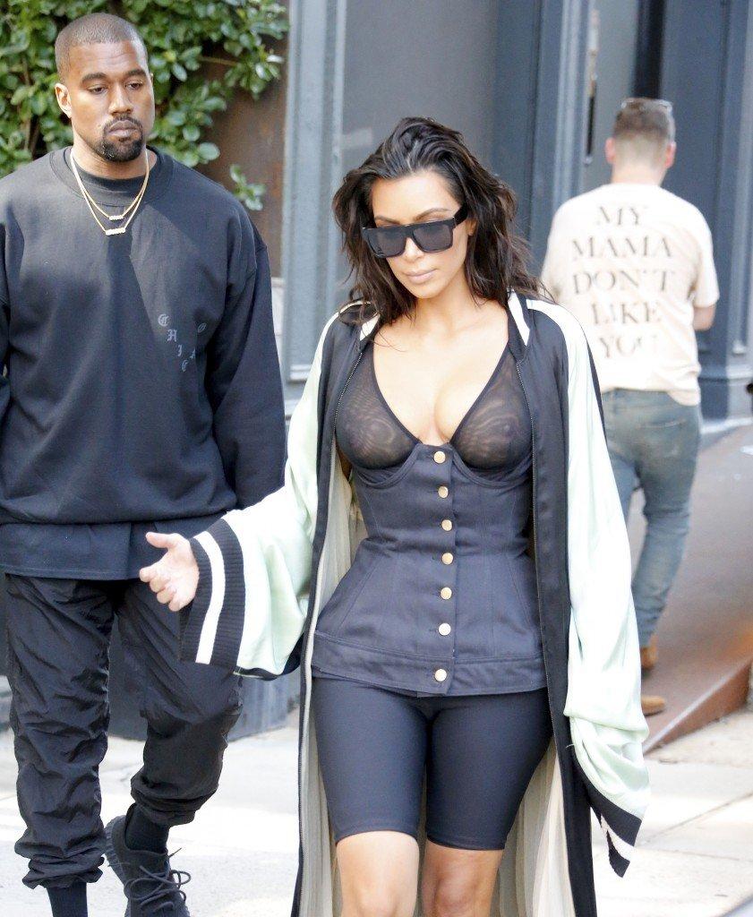 Kim Kardashian See Through 13