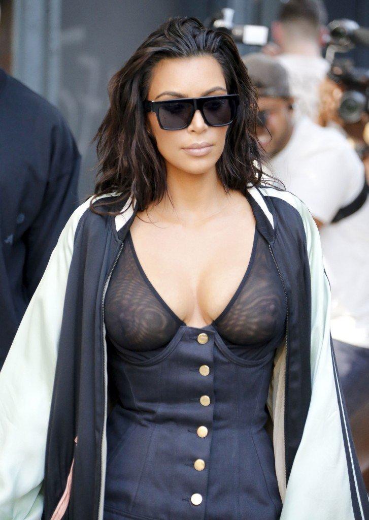 Kim Kardashian See Through 15