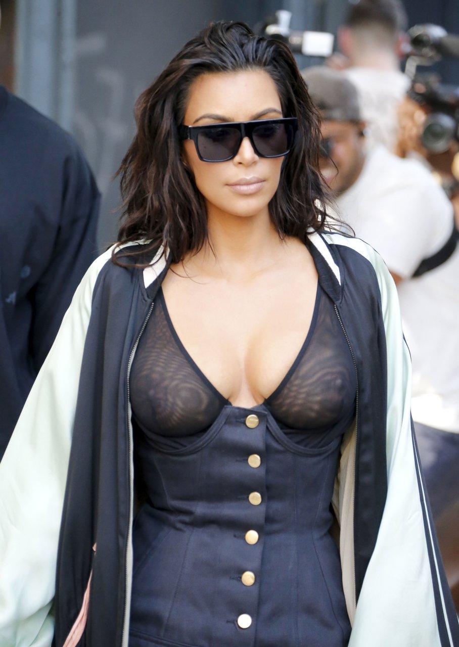 Kim Kardashian See Through (34 Photos) | #TheFappening