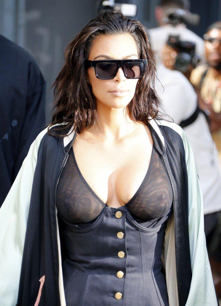 Kim Kardashian See Through 16