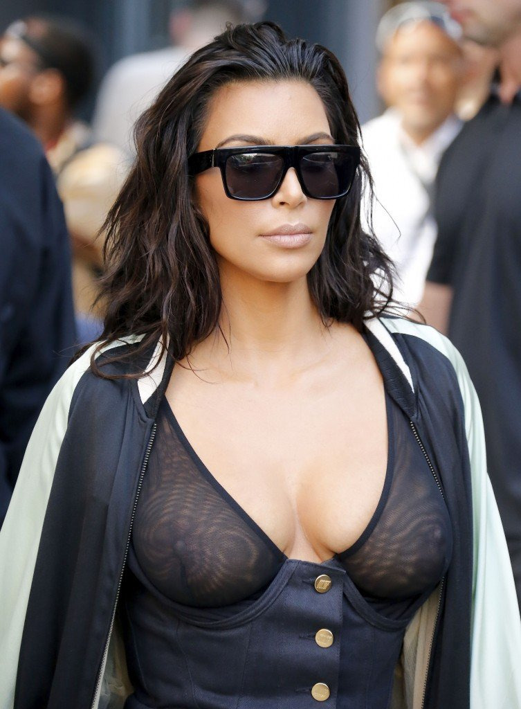 Kim Kardashian See Through 18