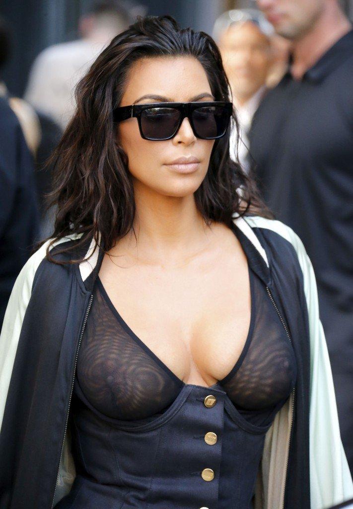Kim Kardashian See Through 19