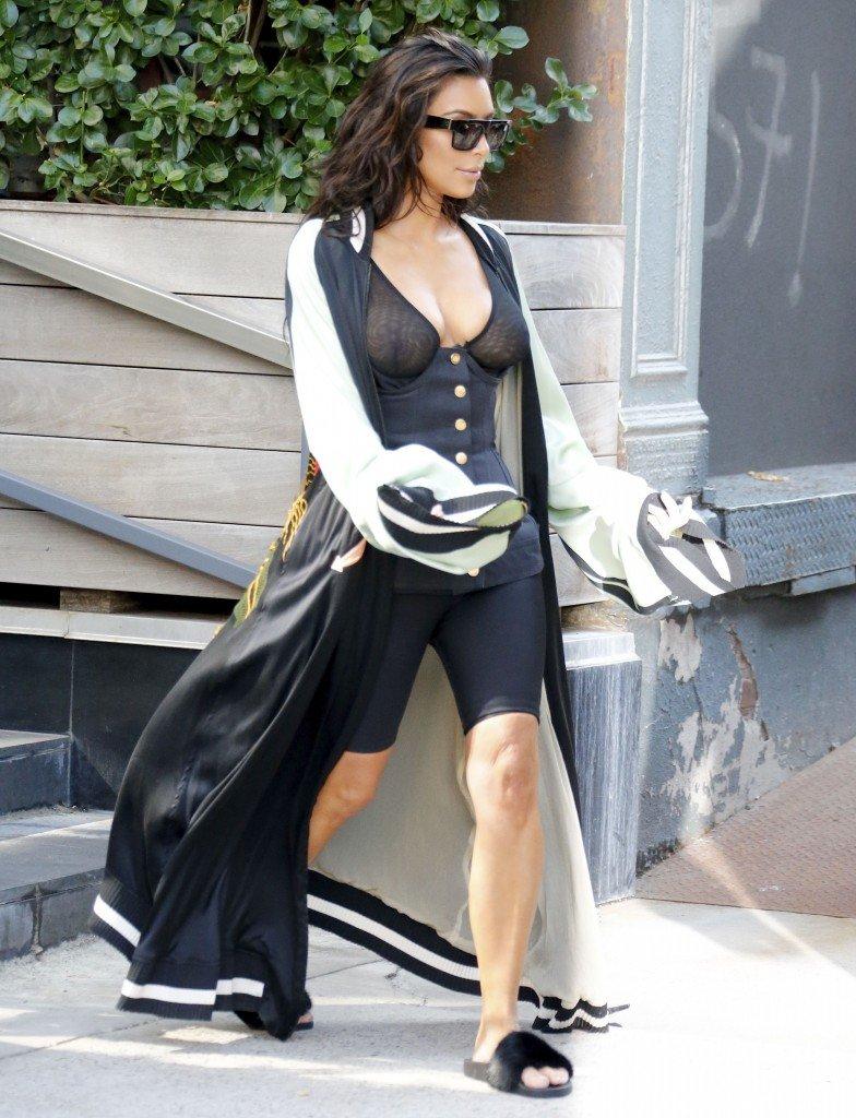 Kim Kardashian See Through 2