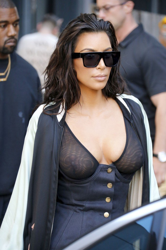 Kim Kardashian See Through 20