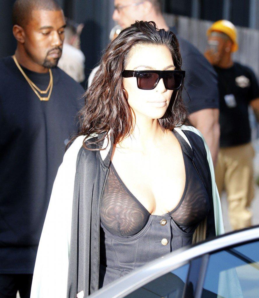 Kim Kardashian See Through 21