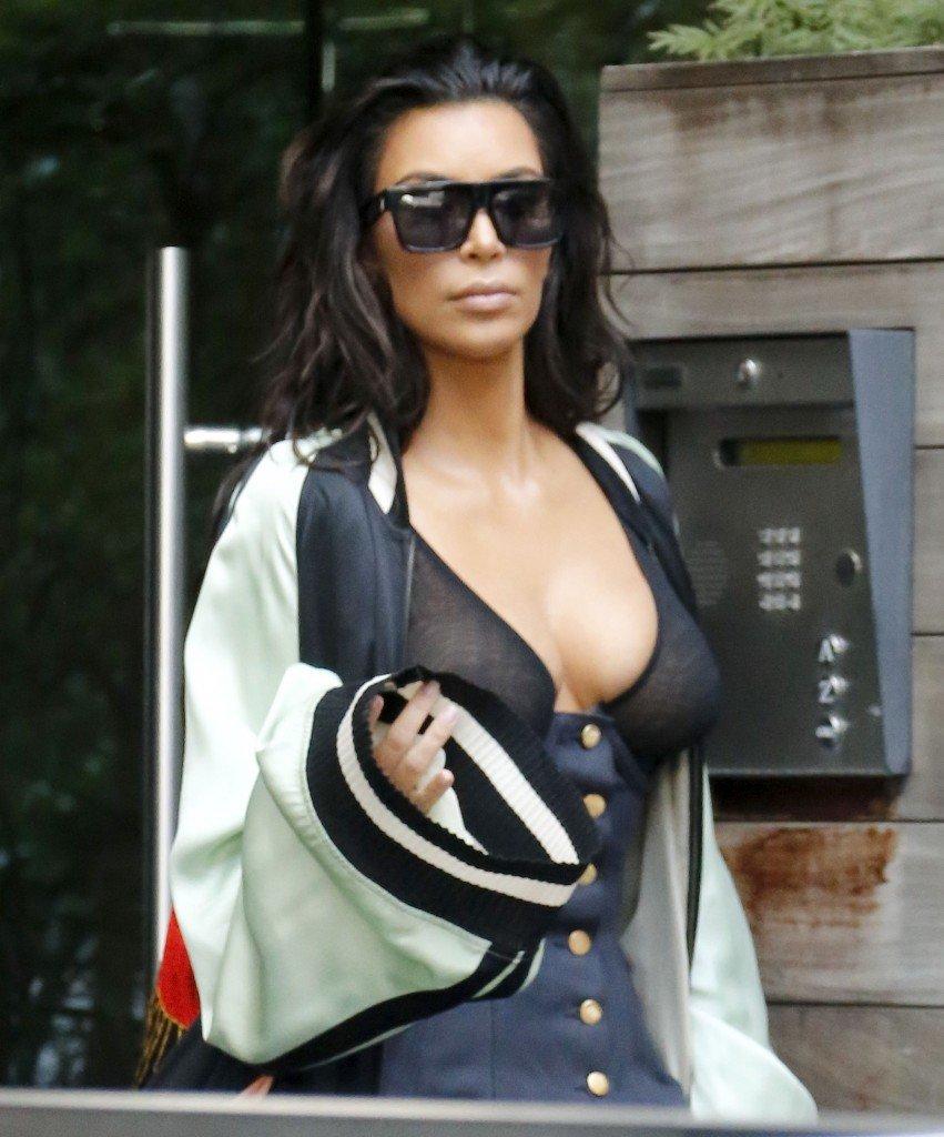 Kim Kardashian See Through 22