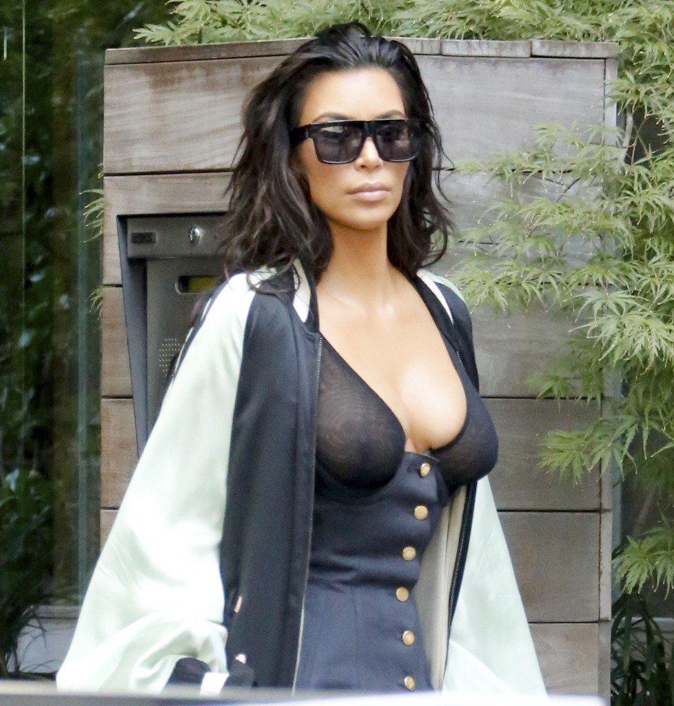 Kim Kardashian See Through 24