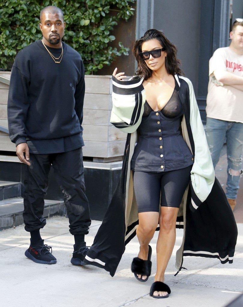 Kim Kardashian See Through 25