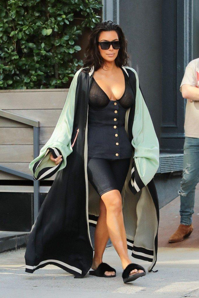 Kim Kardashian See Through 26