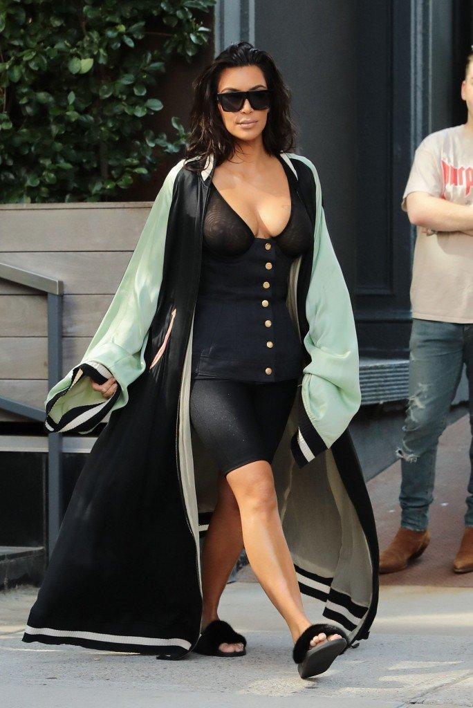 Kim Kardashian See Through 27