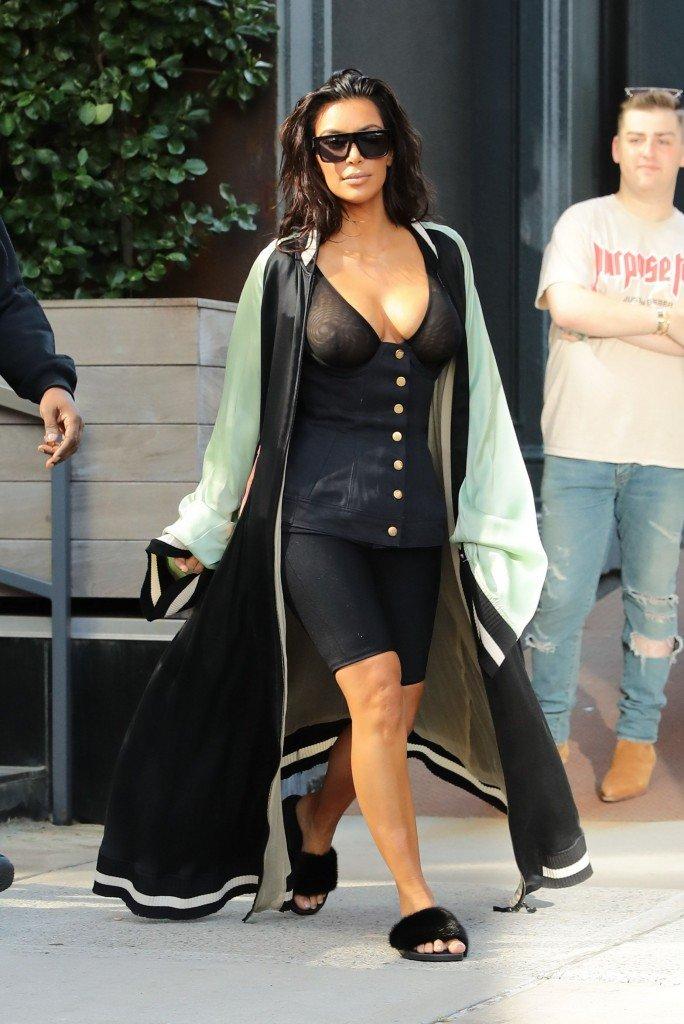 Kim Kardashian See Through 28