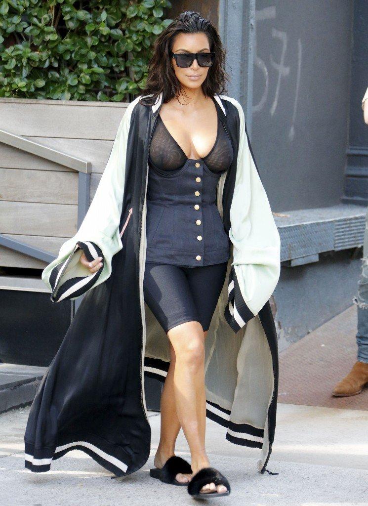 Kim Kardashian See Through 3