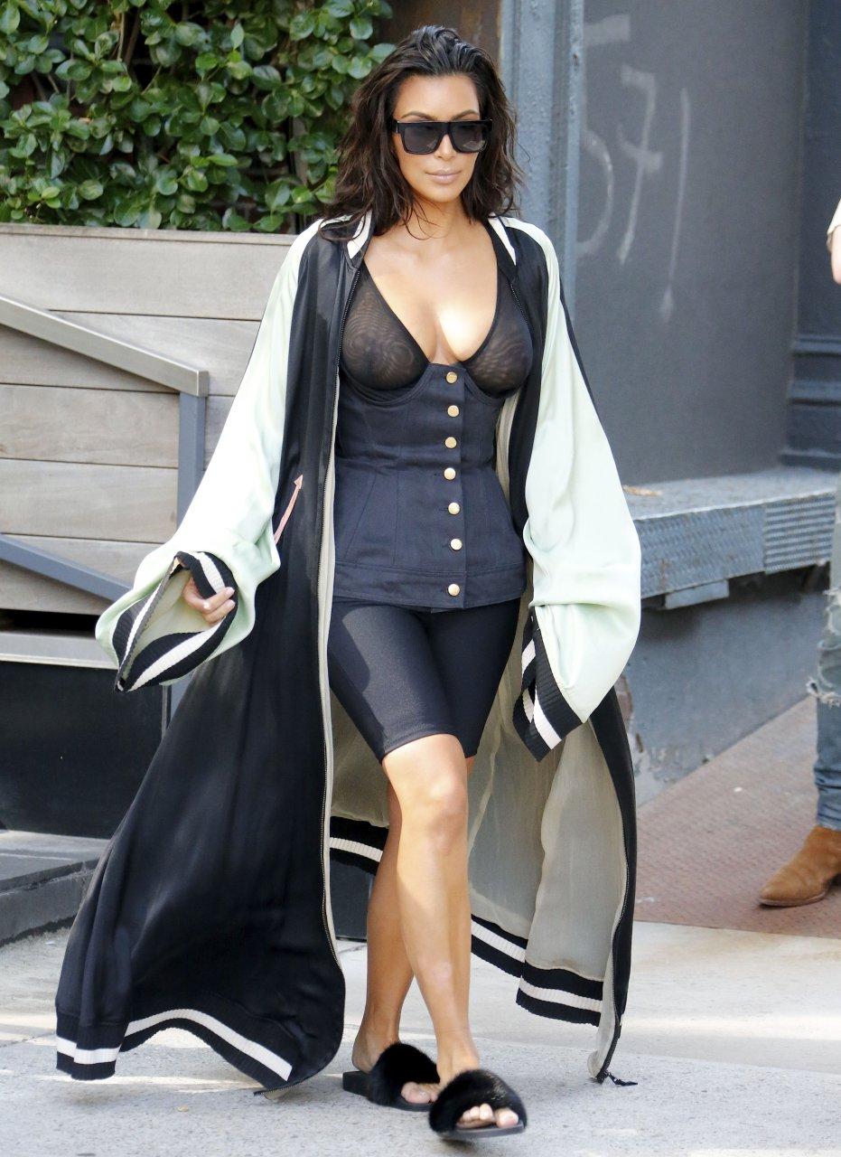 Kim Kardashian See Through 34 Photos Thefappening