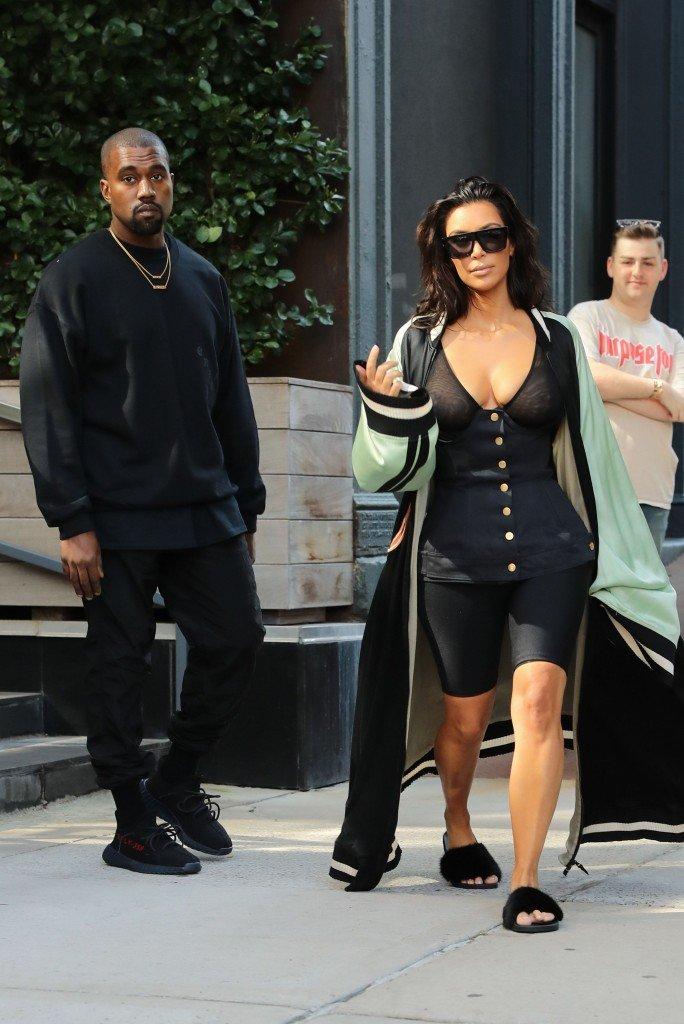 Kim Kardashian See Through 31