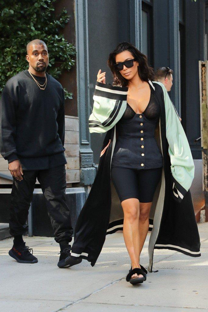Kim Kardashian See Through 33
