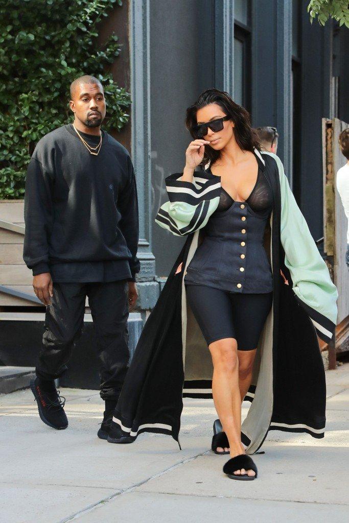 Kim Kardashian See Through 34