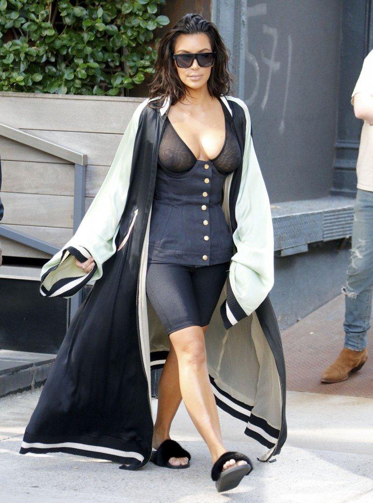 Kim Kardashian See Through 4