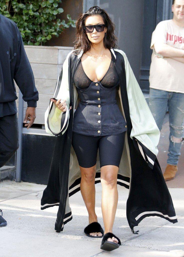 Kim Kardashian See Through 6