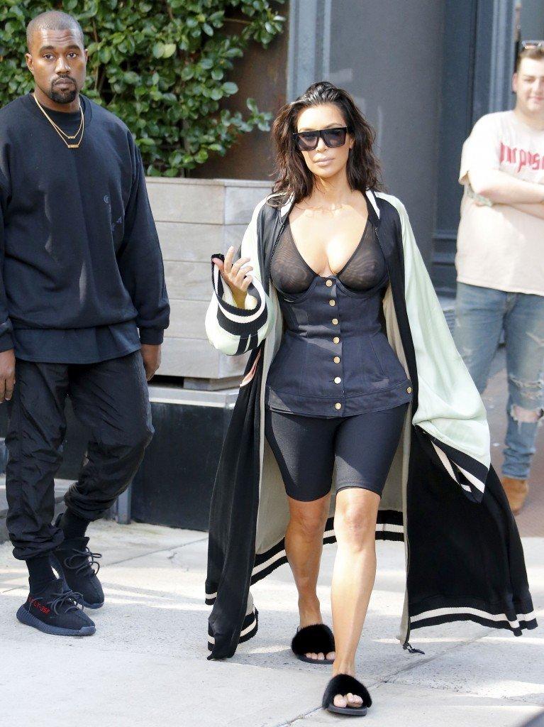 Kim Kardashian See Through 8