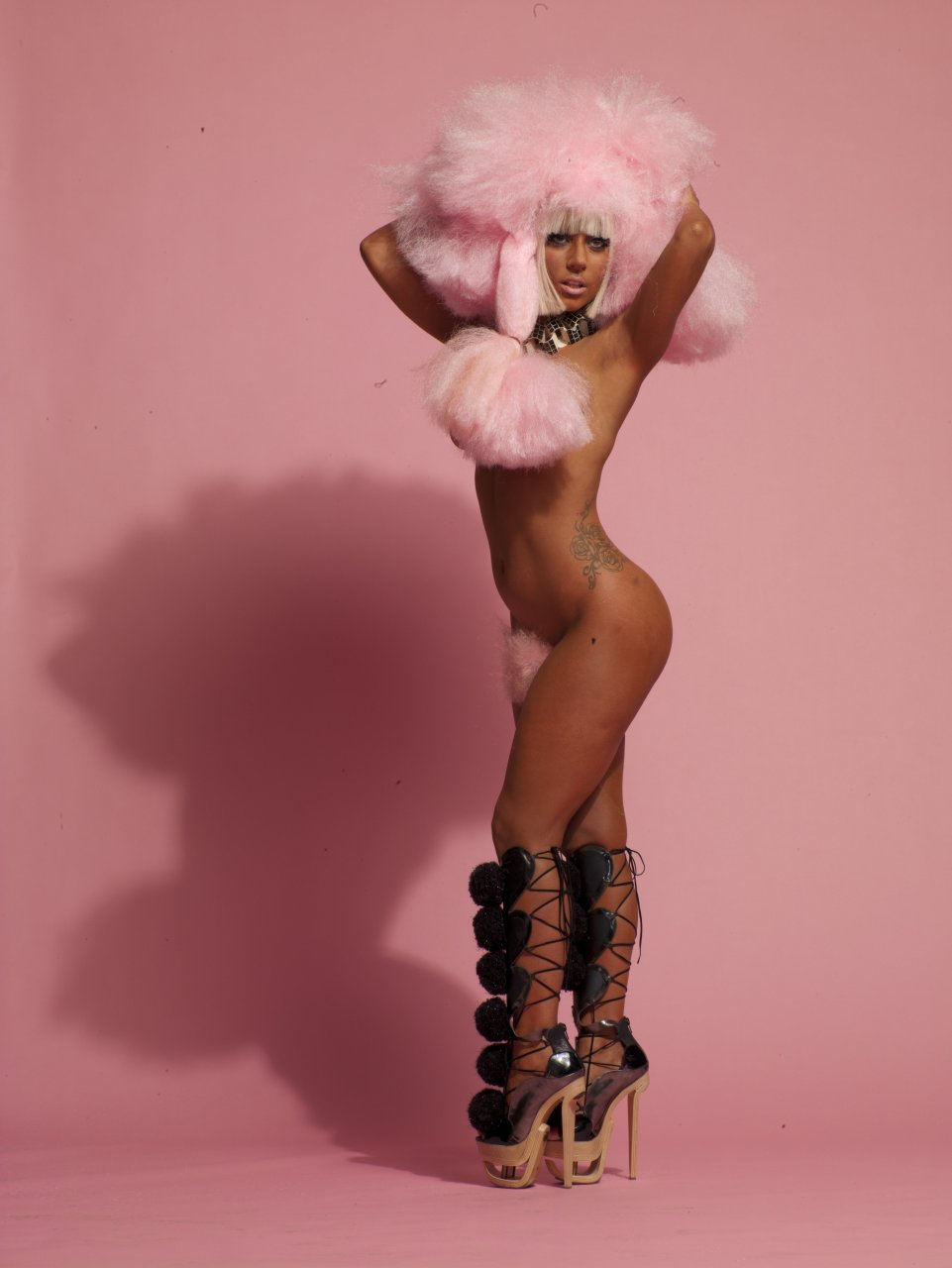 lady gaga bitch naked