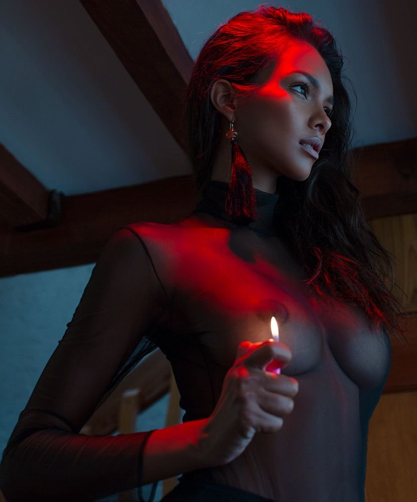 Lais Ribeiro See Through