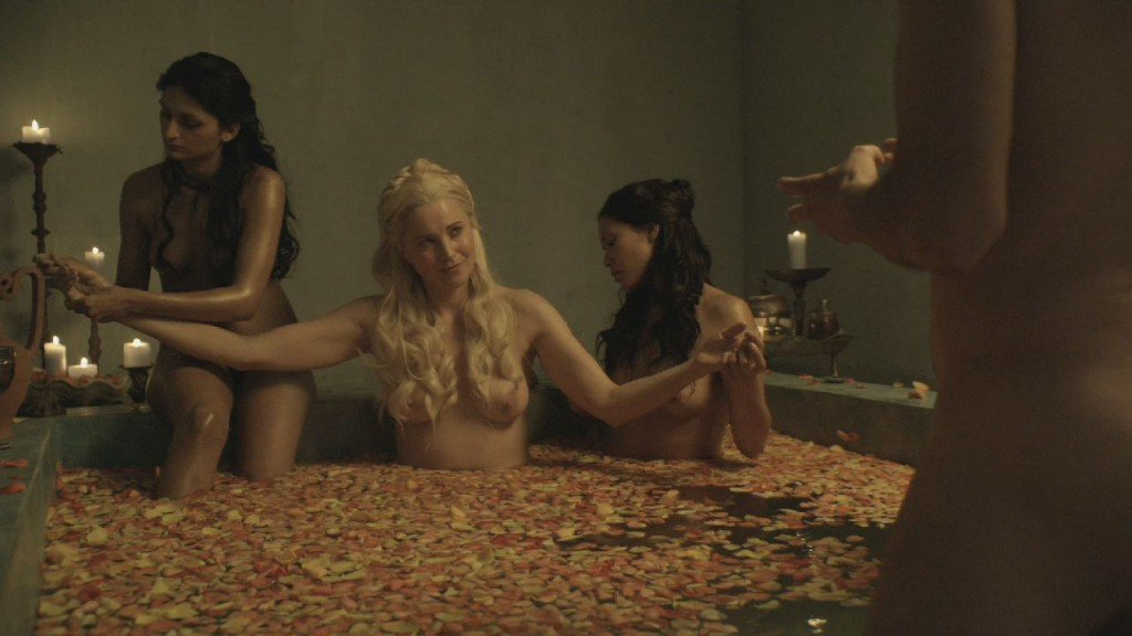 Lucy lawless nackt in spartacus