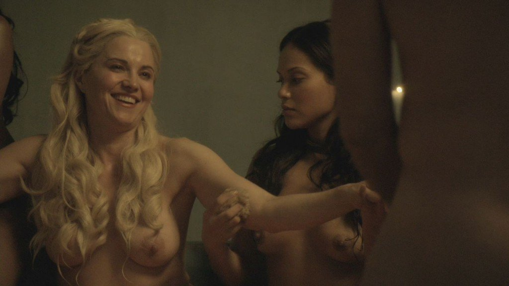 Lucy Lawless, Lesley-Ann Brandt, Laura Surrich Nude 6