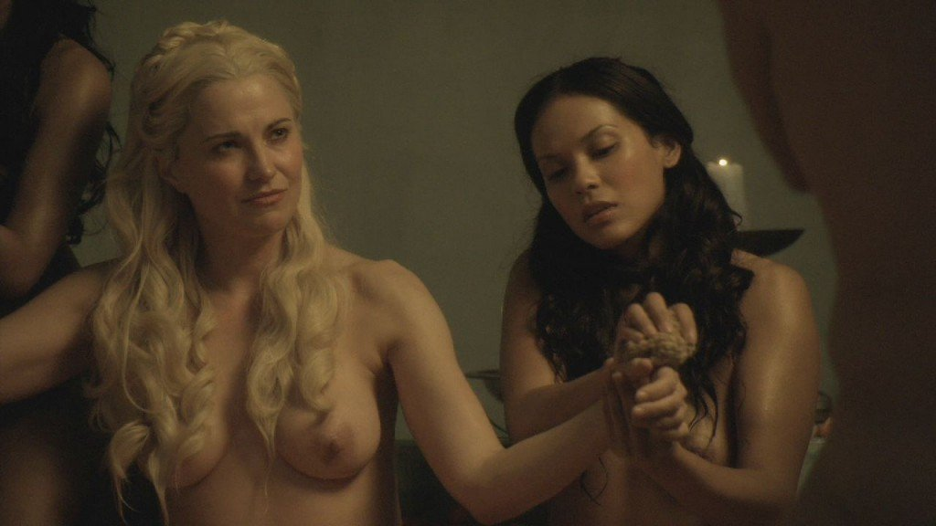 Lucy Lawless, Lesley-Ann Brandt, Laura Surrich Nude 7