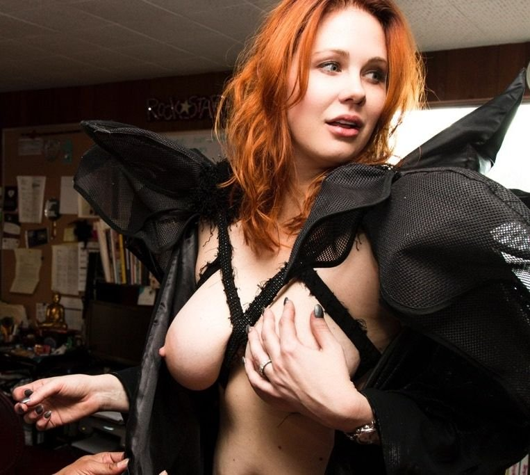 Maitland Ward Topless 2