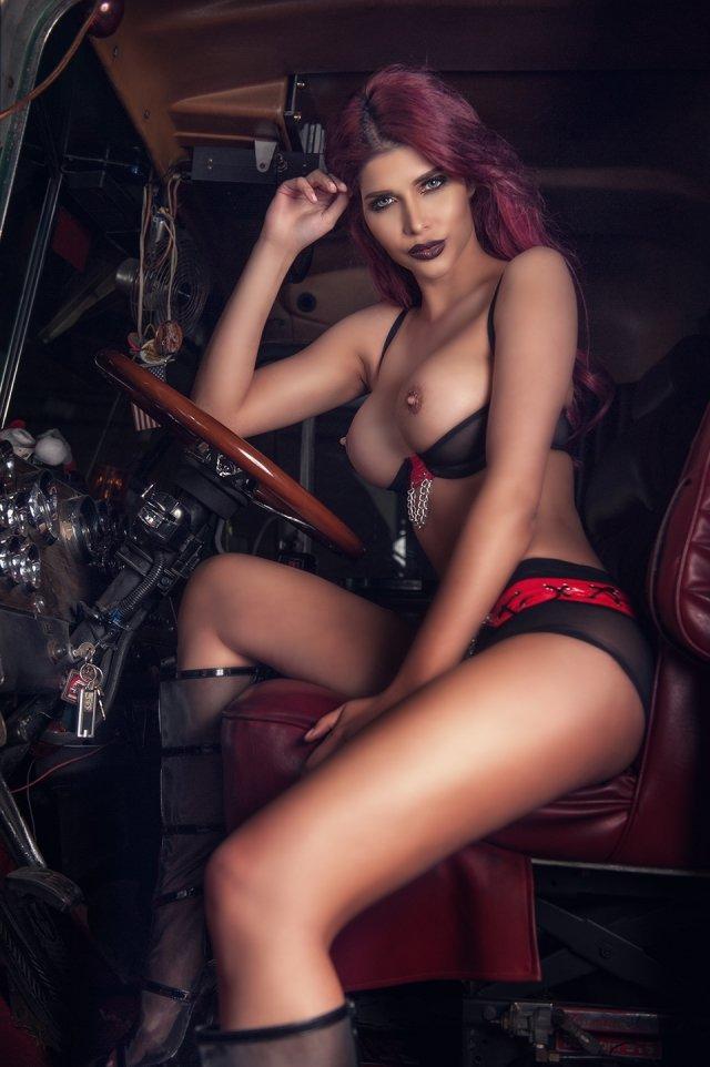 Micaela Schaefer Topless (11 Photos + Video)