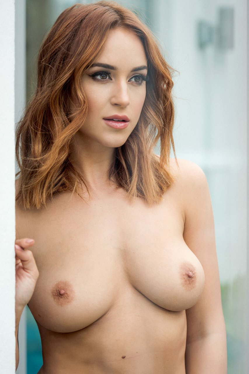 Perfect nude woman breast