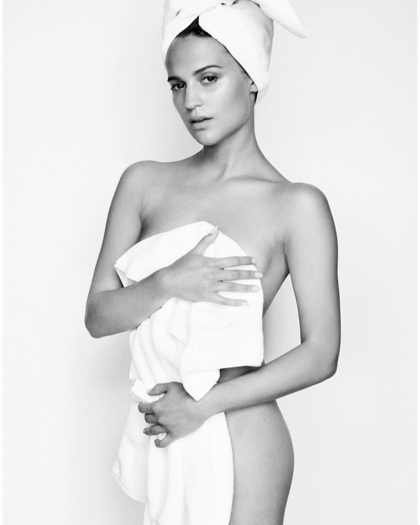 Alicia Vikander Nude