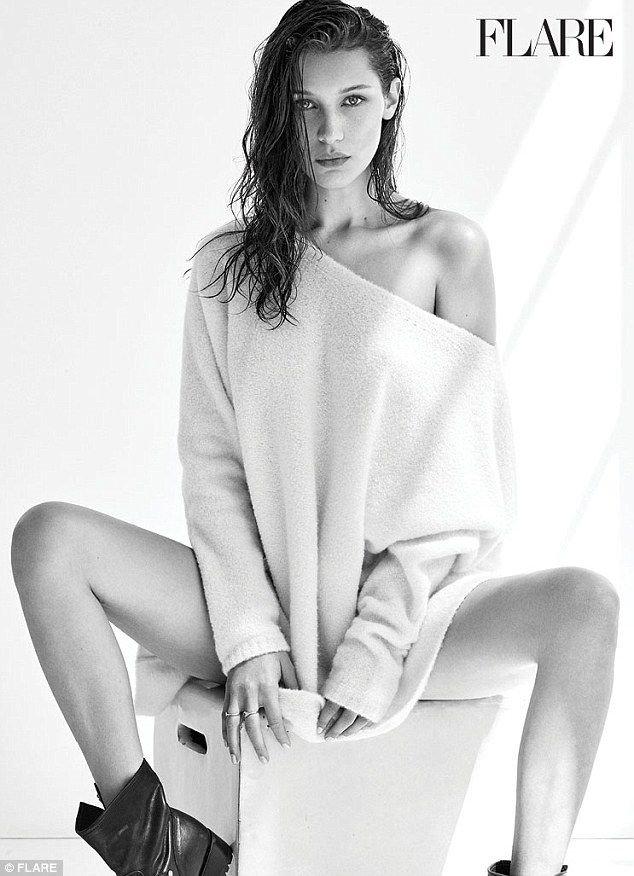 Bella Hadid Topless Sexy 6