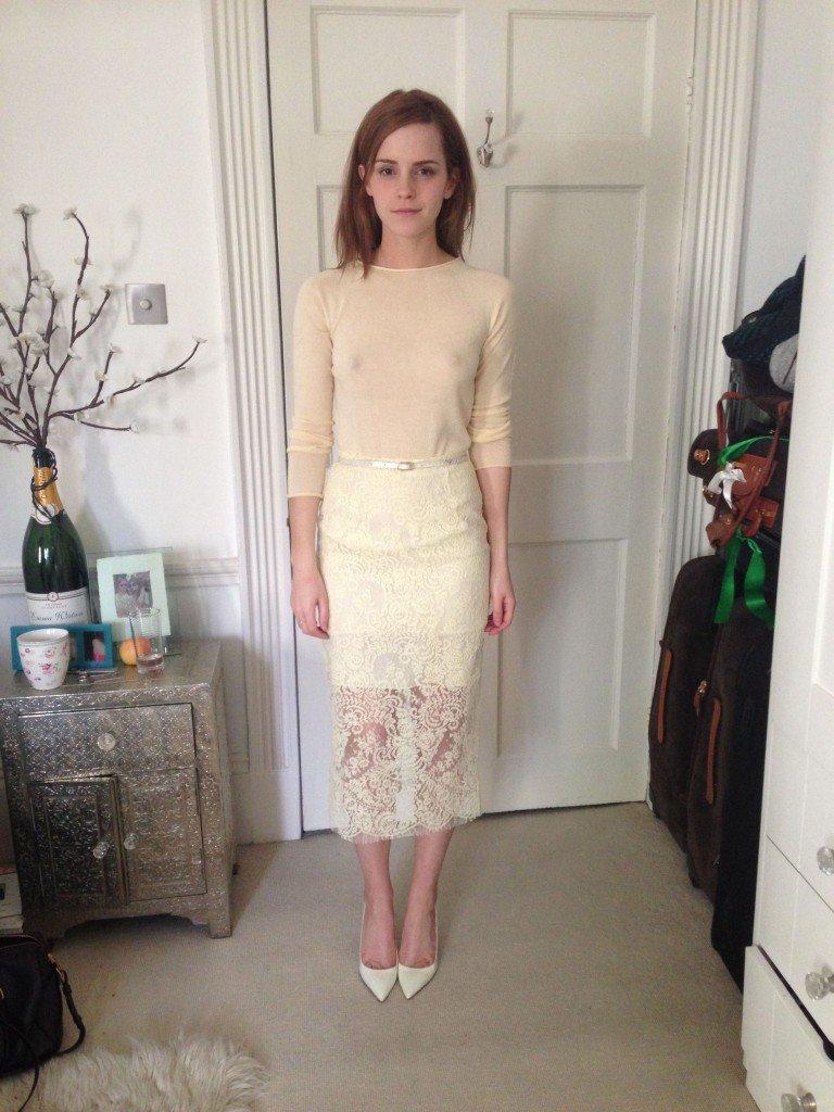 Emma Watson See Through (2 Sexy Photos + Gif)