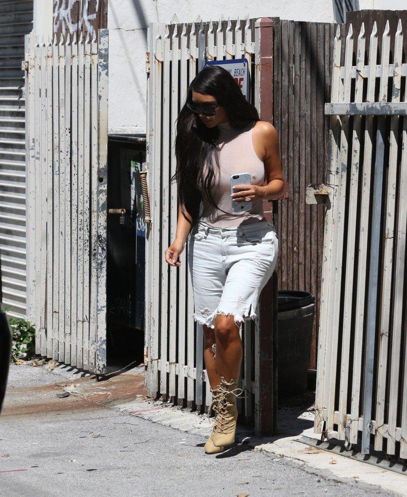 Kim Kardashian See Through 117