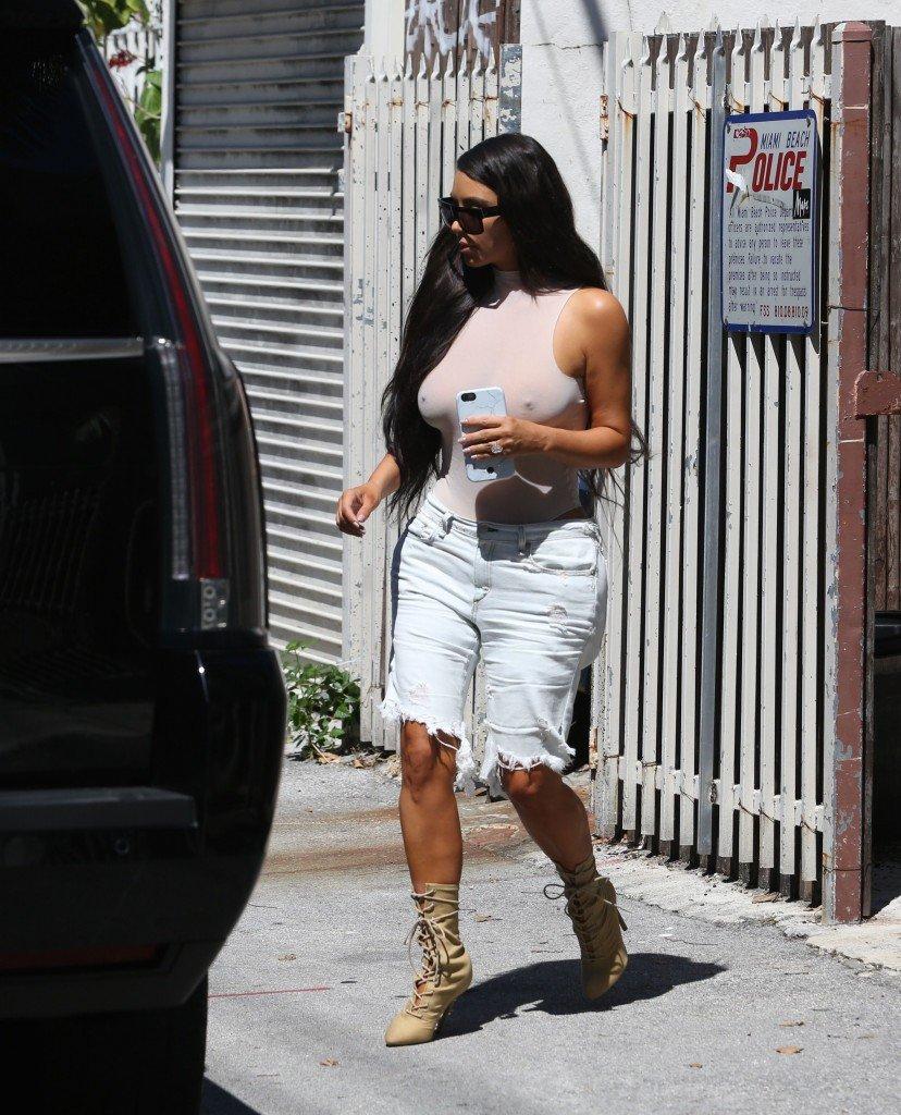 Kim Kardashian See Through 122