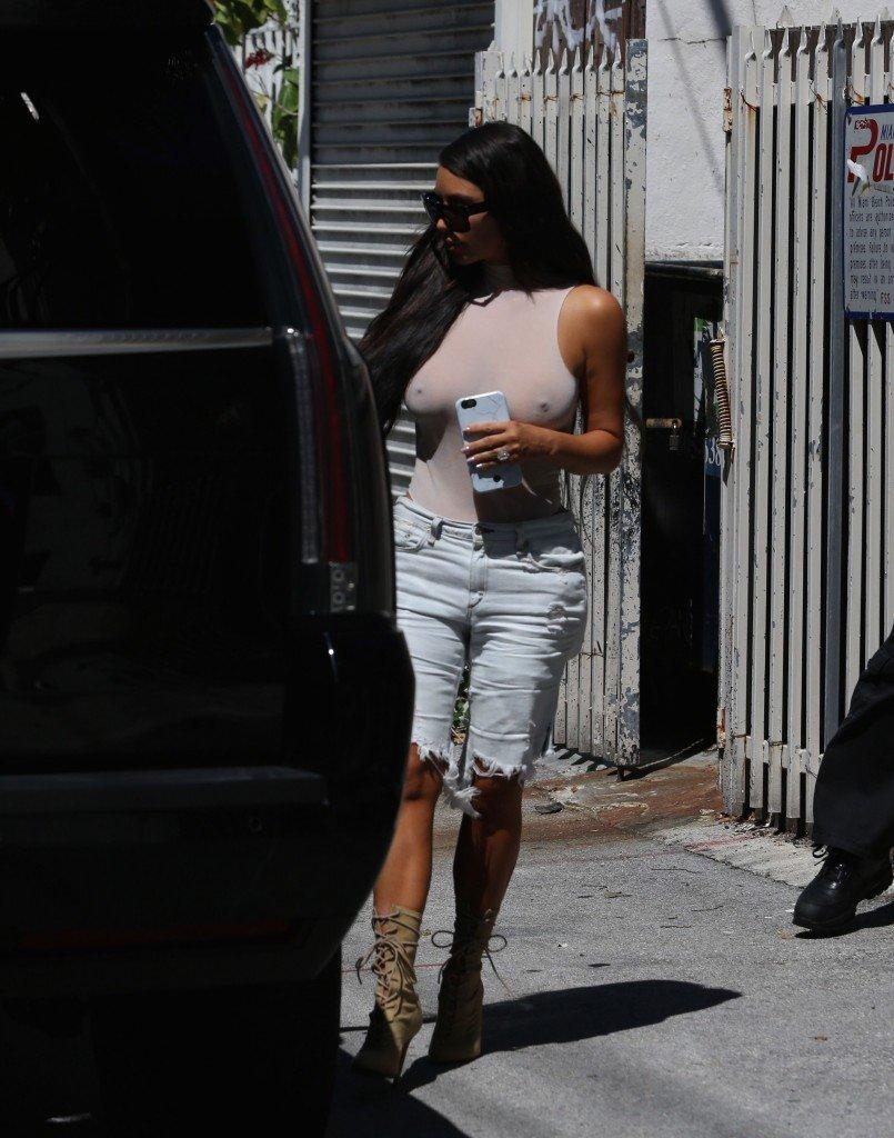 Kim Kardashian See Through 127