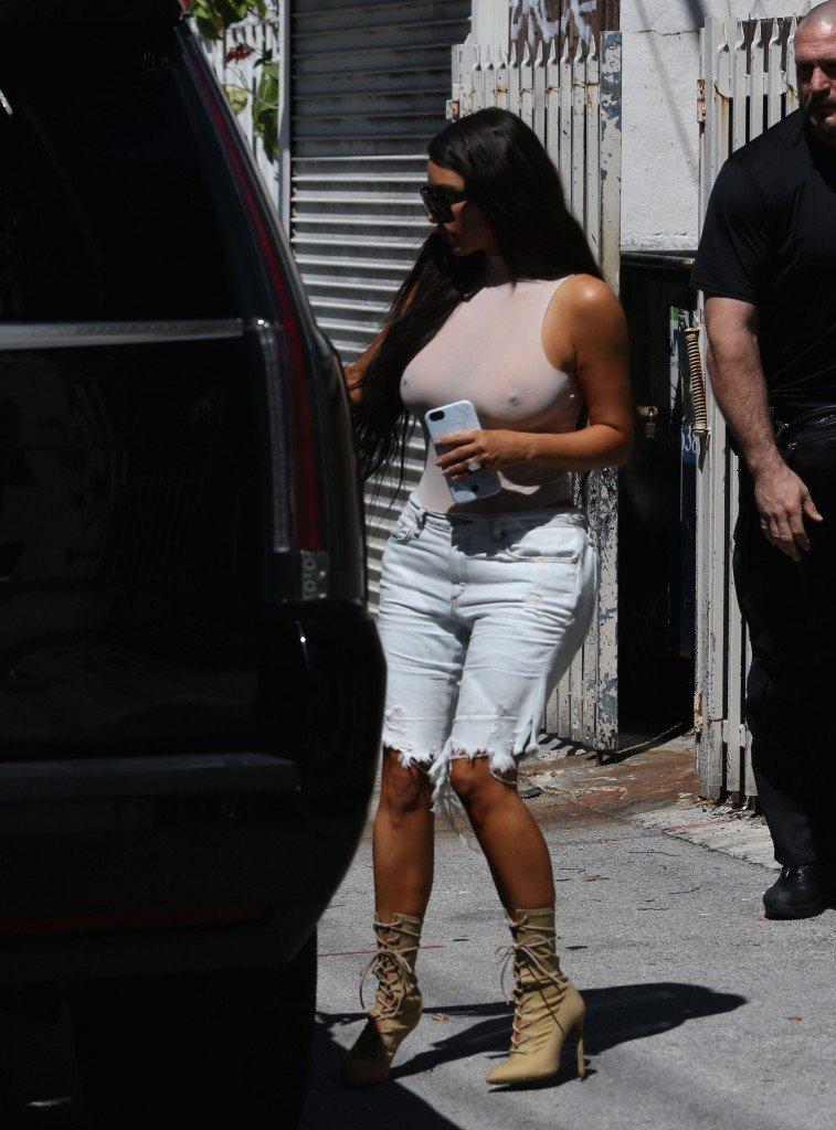 Kim Kardashian See Through 130
