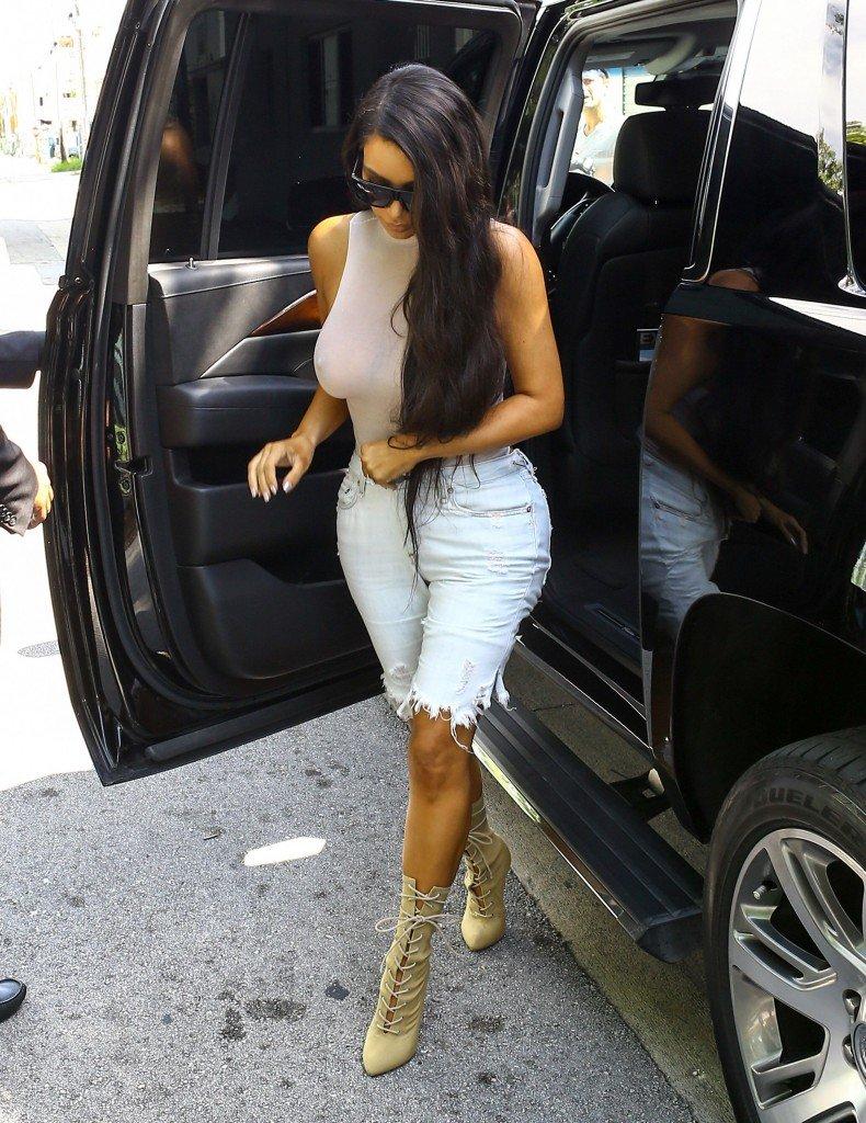 Kim Kardashian See Through 14