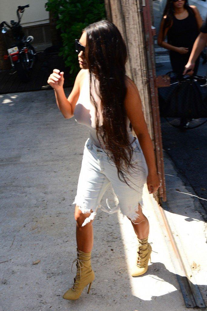 Kim Kardashian See Through 49