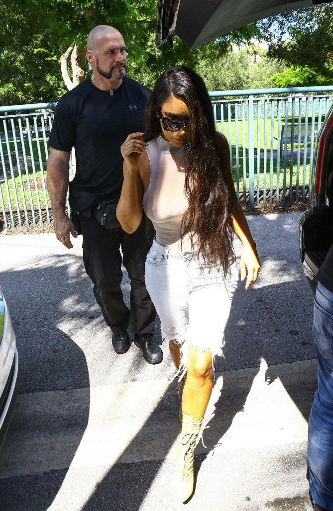 Kim Kardashian See Through 50